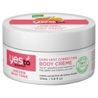 Yes to grapefruit dark spot correcting body crème - 171ml