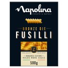 Napolina fusilli bronze die pasta - 500g Brand Price Match - Checked Tesco.com 25/05/2016