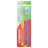 Colgate twister fresh toothbrushes twin pack