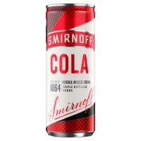 Smirnoff Vodka & Cola