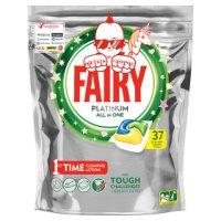 Fairy Platinum Dishwasher Lemon 37 Capsules