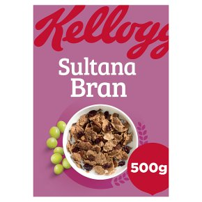 Kellogg's Bran Flakes sultana bran