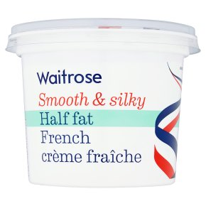 Waitrose half fat crème fraîche