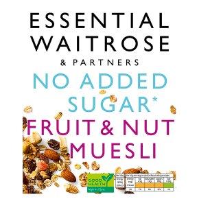 Essential Waitrose - Fruit & Nut Muesli