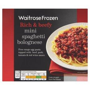 Waitrose Mini Spaghetti Bolognese