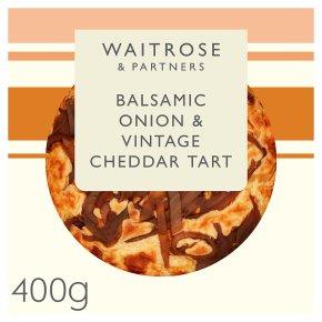 Waitrose Balsamic Onion & Cheddar Tart