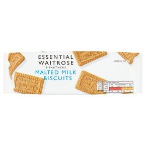 Essential Malted Milk Biscuits