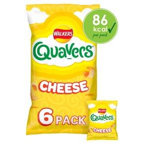 Walkers Quavers cheese multipack crisps