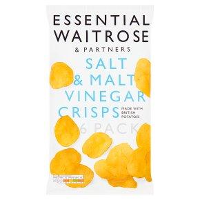 essential Waitrose salt & malt vinegar crisps