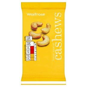 Waitrose honey roasted cashew nuts
