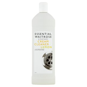 essential Waitrose cream cleaner lemon