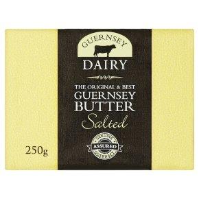 Fresh Guernsey butter salted