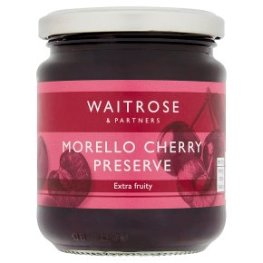Waitrose morello cherry preserve