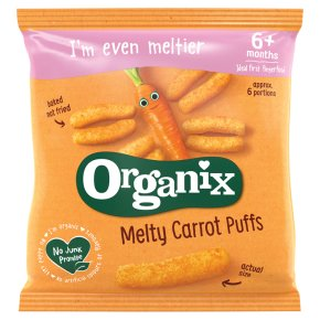 Organix organic carrot sticks - stage 2