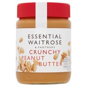 Essential Waitrose crunchy peanut butter