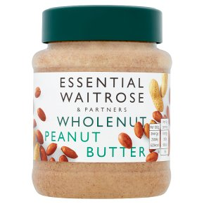 essential Waitrose wholenut peanut butter