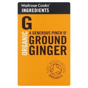 Waitrose Cooks' Ingredients organic ground ginger