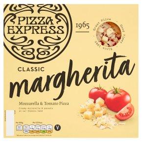 Pizza Express margherita pizza