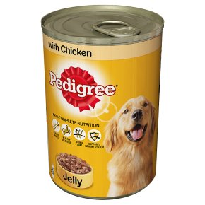 Pedigree with chicken in jelly