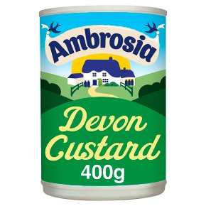 Ambrosia tinned Devon custard