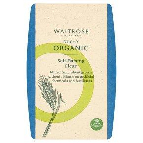 Waitrose Duchy Organic self raising white flour