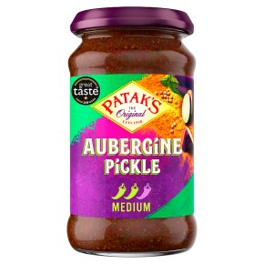 Patak's aubergine pickle
