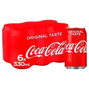 Coca-Cola multipack cans
