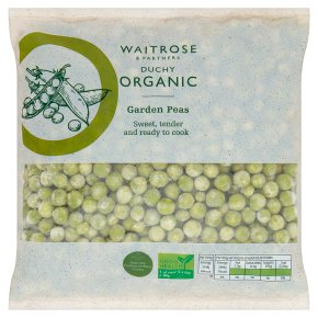Waitrose Duchy Organic garden peas