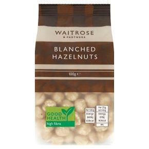 Waitrose Hazelnuts Blanched