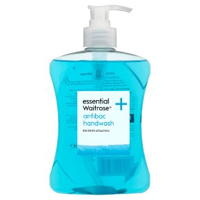 Waitrose antibac cleansing handwash