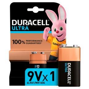 Duracell Ultra 9V MX1604