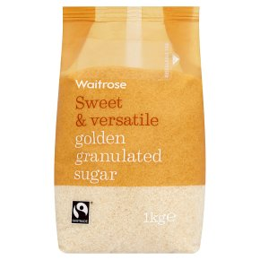 Waitrose golden granulated sugar