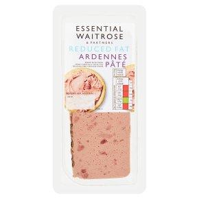 essential Waitrose reduced fat Ardennes pâté