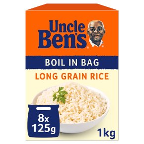 Uncle Ben's boil in bag long grain rice