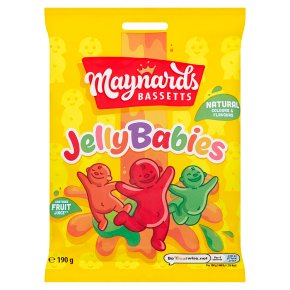 Maynards Bassetts Jelly Babies Sweets Bag