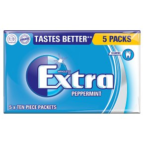 Wrigley's Extra peppermint sugarfree