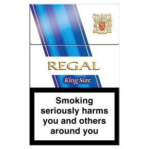 Regal king size cigarettes