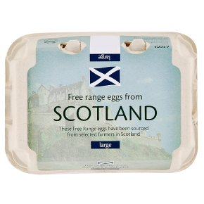 Stonegate Scottish large free range eggs