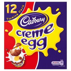 Cadbury Creme Egg Chocolate Eggs 12 Pack