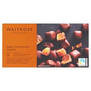 Waitrose chocolate ginger