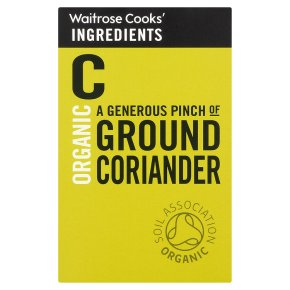 Waitrose Cooks' Ingredients organic ground coriander