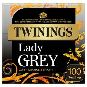 Twinings lady grey 100 tea bags