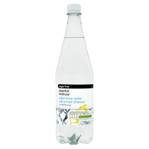 essential Waitrose sugar free tonic water with lemon
