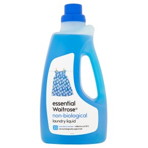 essential Waitrose non-biological liquid, 20 washes