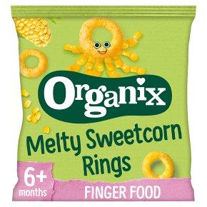 Organix organic sweetcorn rings - stage 2