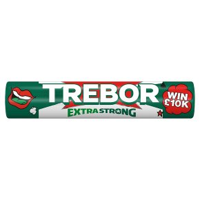 Trebor Extra Strong Peppermint mints roll pack
