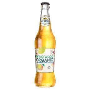 Westons organic premium cider