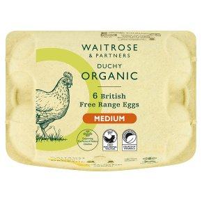 Waitrose Duchy British Free Range Eggs Medium