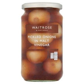 Waitrose pickled onions in vinegar