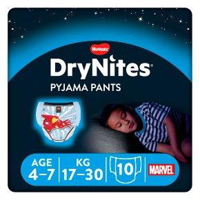 Drynites Pyjama Pants, Boy age 4-7 yrs, 17-30kg